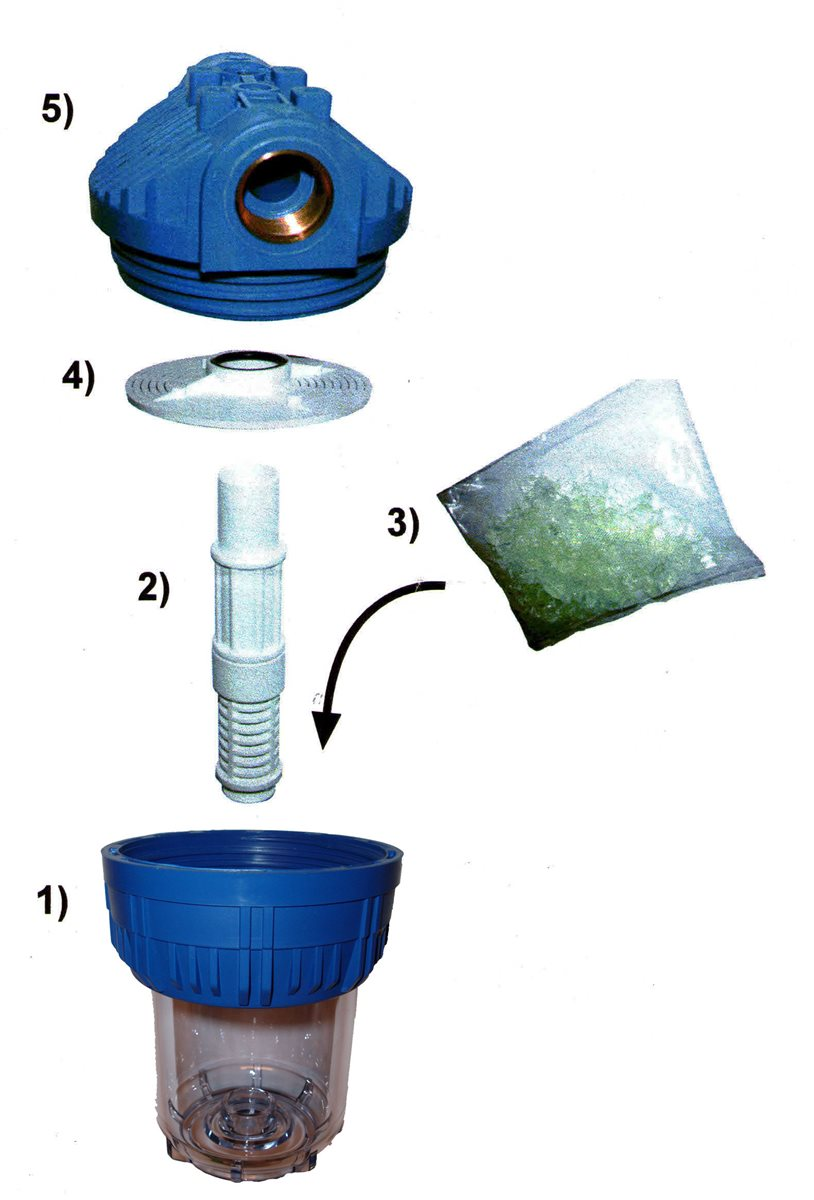 wasserfilter polyphosphat entkalkung antikalk kalk. Black Bedroom Furniture Sets. Home Design Ideas