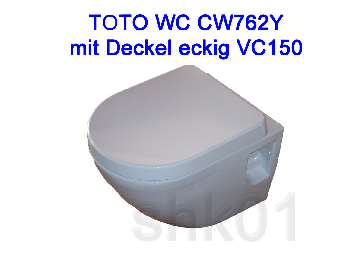 wand wc toto nc wei cw762y sitz vc150 vc100r tornado flush cefiontect ebay. Black Bedroom Furniture Sets. Home Design Ideas