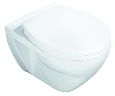 vigour derby wand flachsp l wc toilette wand wc klosett klo wandh ngend wei ebay. Black Bedroom Furniture Sets. Home Design Ideas